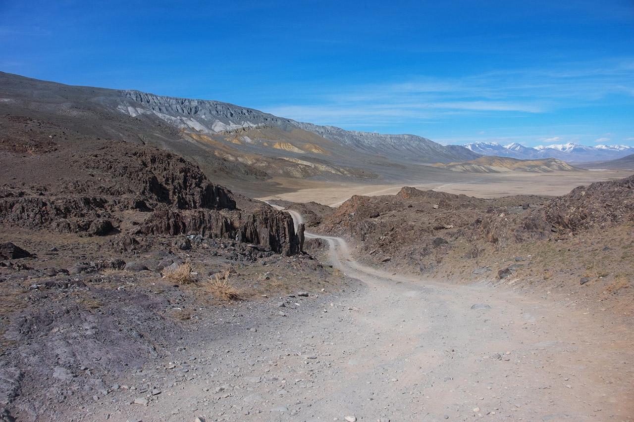 Дорога вдоль Чагана
