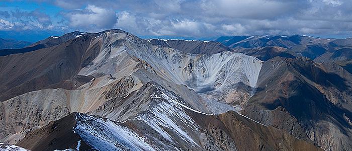 Вид с вершины Янтерек