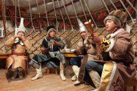 выстпление алтайских музыкантов