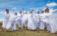 Алтайские девушки-танцовщицы