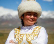 казахская-девушка