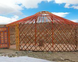 монгольская-юрта