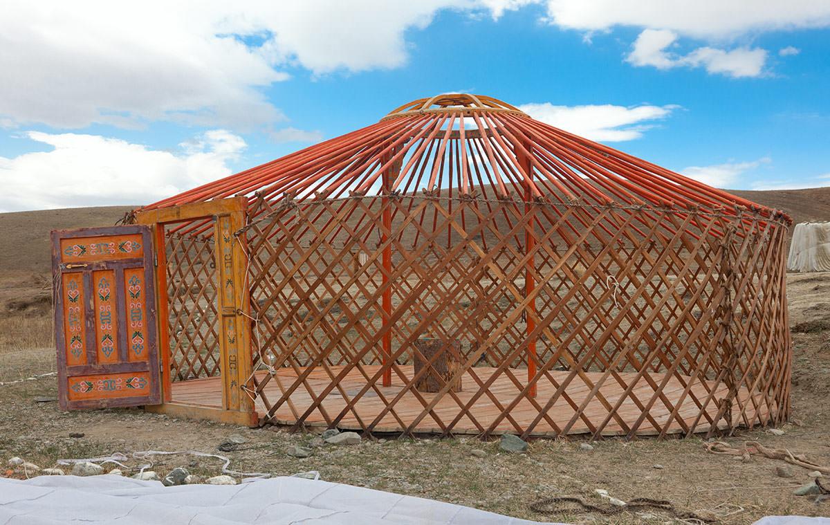 кереге карскас монгольской юрты