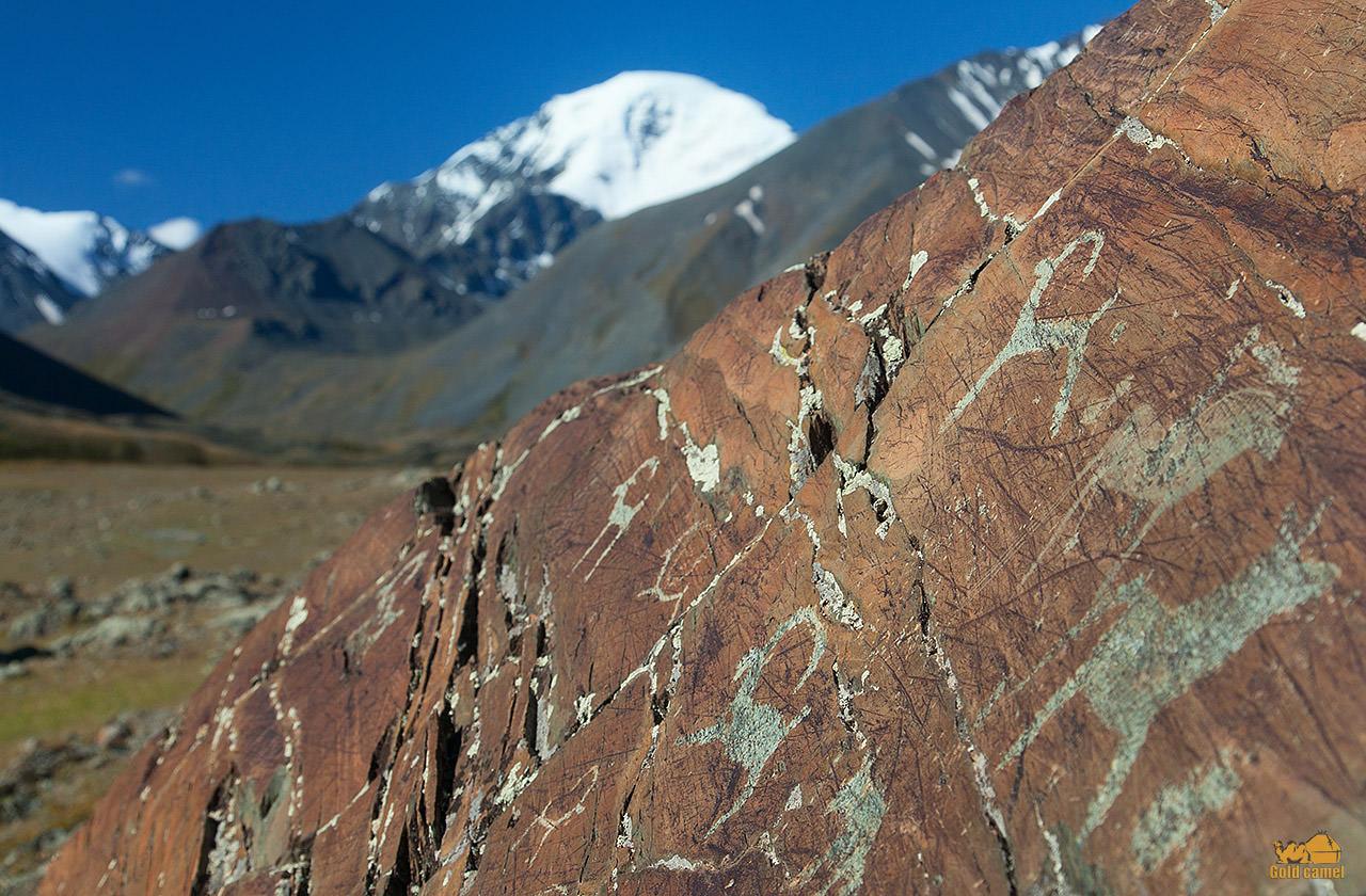 петроглифы у горы джаниикту