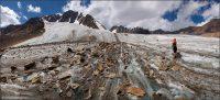 на Леднике Джело