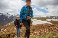 туристы на Алтае