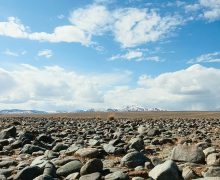 Чуйская степь. Каменная пустыня