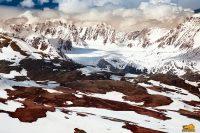 ледник Джело в июне