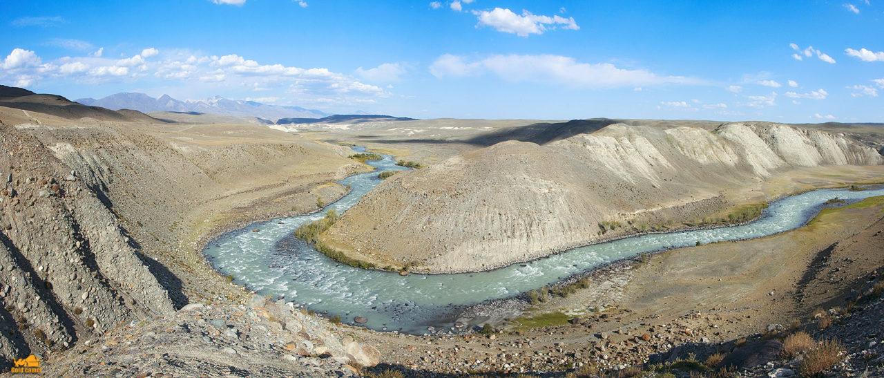 Долина реки Чаган Узун