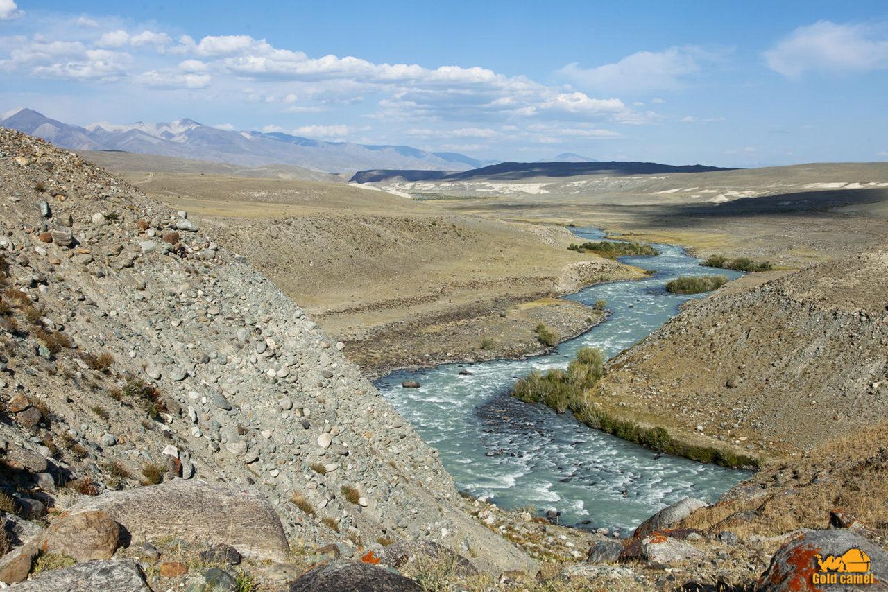 Река Чаган Узун
