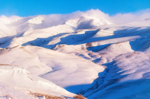 Курайский Хребет. Зимой