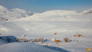 Зима в Чуйской степи