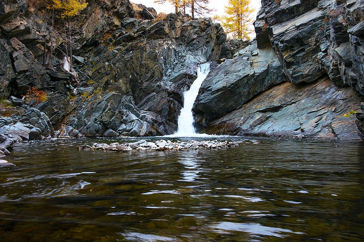 водопад на Алтае