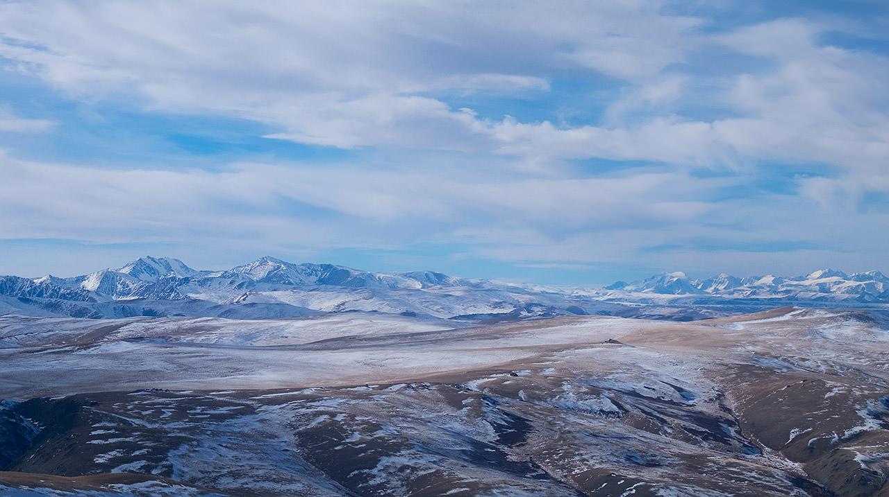 Вид на Алтай