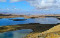 киндыктикуль озеро в горах