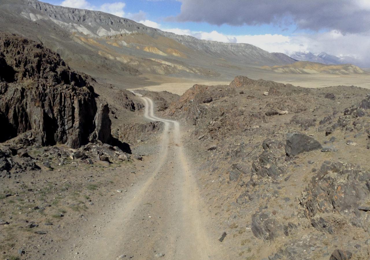 Дорога на Чаган
