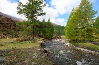 река в горах Алтая