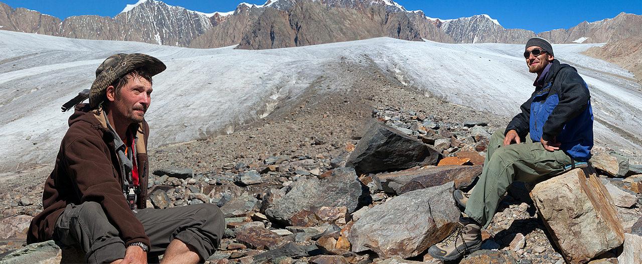 привал на Леднике Джело