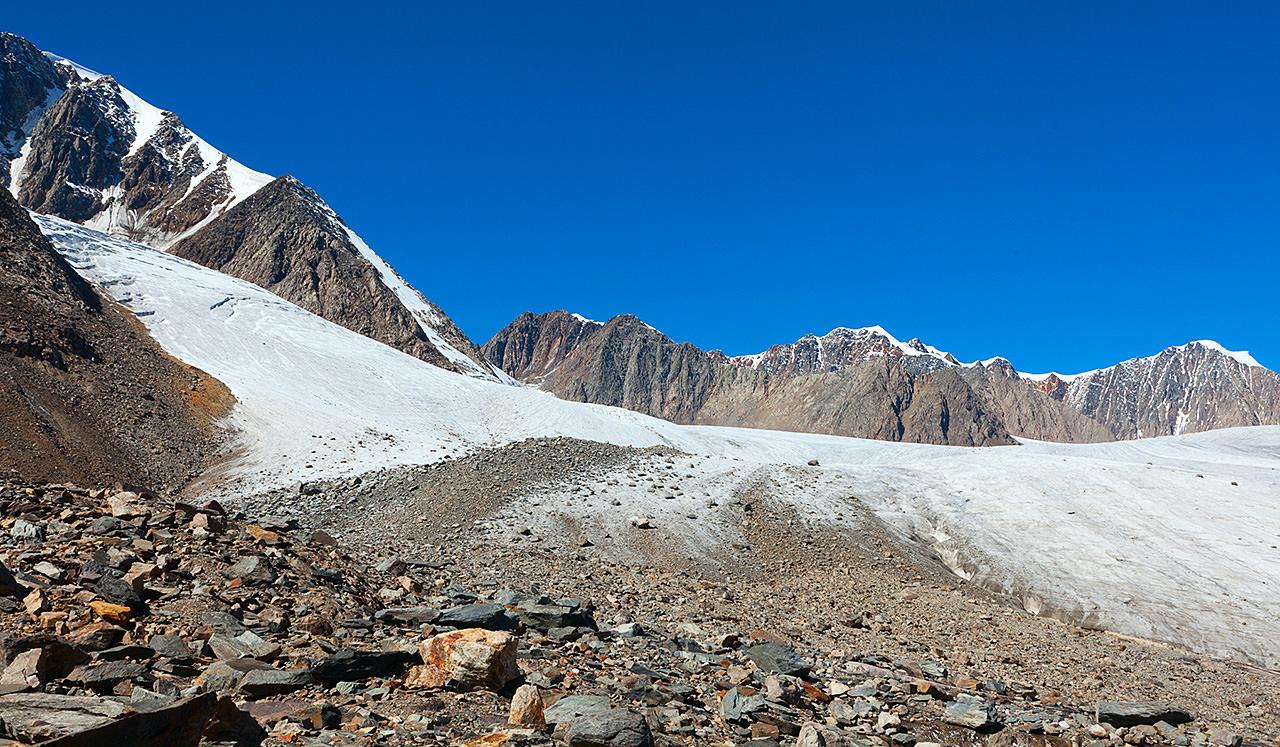 Лед на Леднике Джело