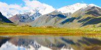 Озеро в долине Елангаш