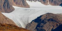 Ледник Джелло с перевала Карагем