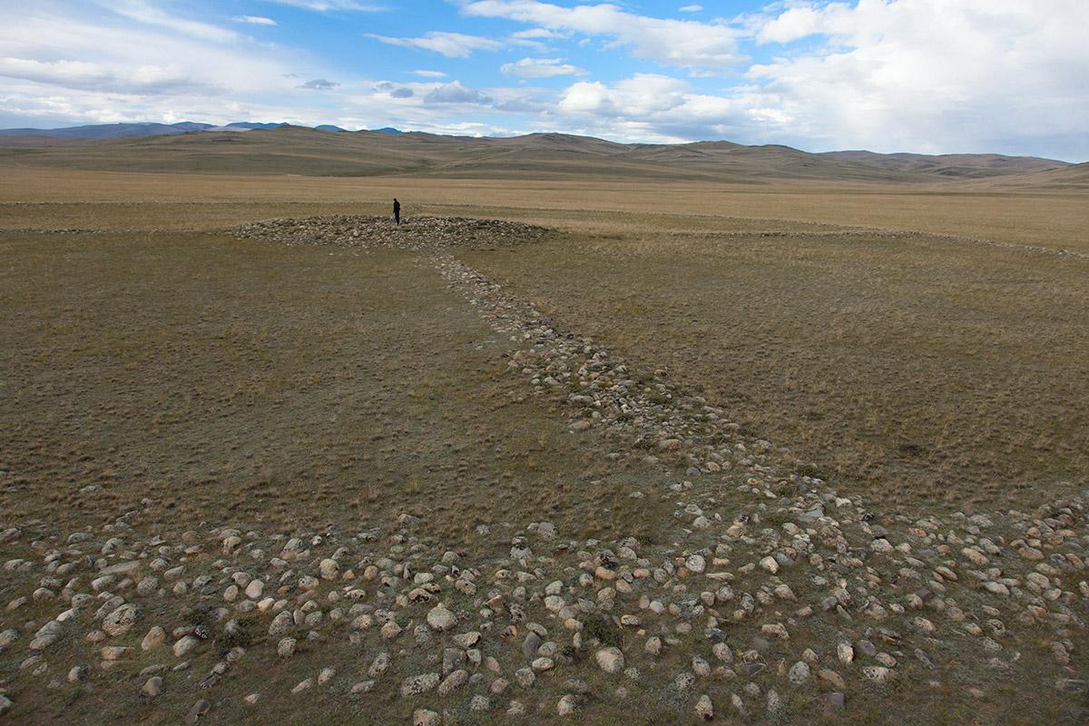 Керексур в долине Юстыт