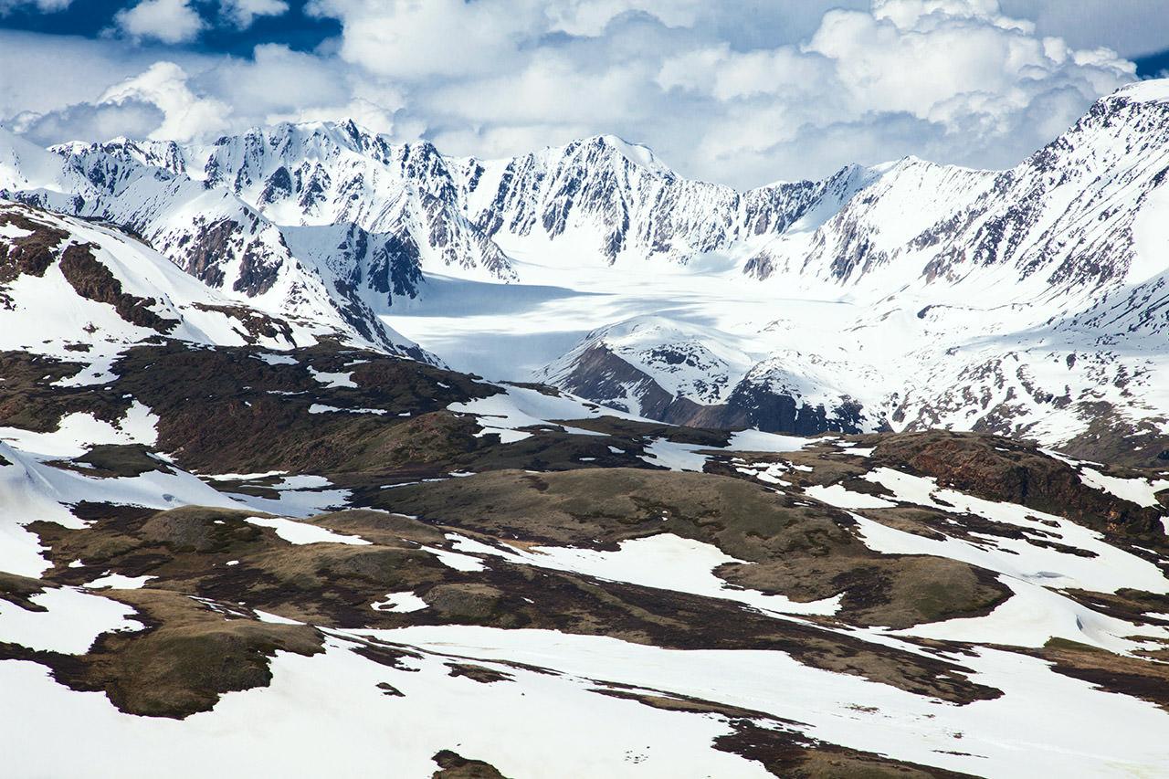 Ледник Джелос перевала карагем